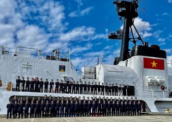 Tàu Cảnh sát biển Việt Nam khởi hành từ Mỹ vượt đại dương về nước