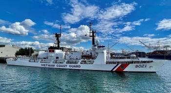 Tàu tuần tra Mỹ chuyển giao cho Việt Nam đang trên đường về nước