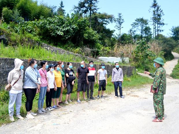 Nhiều công dân nhập cảnh trái phép từ Trung Quốc về Việt Nam bị các chiến sỹ Đồn Biên phòng Xín Cái phát hiện. Sau khi tiến hành các thủ tục pháp lý cần thiết, các công dân này được đưa về khu cách ly nhằm đảm bảo công tác phòng, chống dịch Covid – 19 theo quy định.