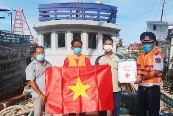 """Kiên Giang: Tổ chức chương trình """"Cảnh sát biển đồng hành cùng ngư dân"""""""