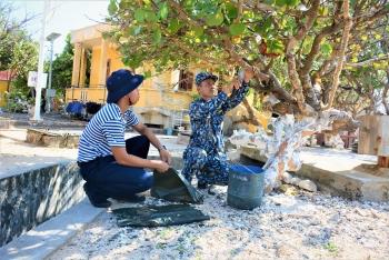 Miền cổ tích giữa điệp trùng xanh trên đảo Trường Sa