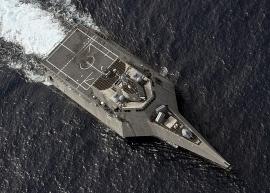 Hải quân Mỹ phô diễn sức mạnh ở Biển Đông