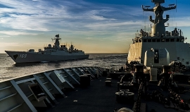 Trung Quốc cùng lúc làm dậy sóng 3 vùng biển châu Á