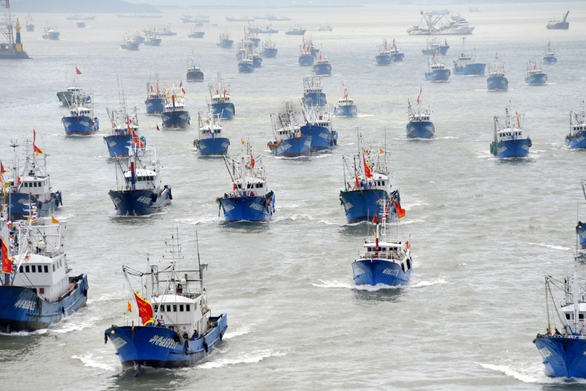 Trung Quốc áp đặt lệnh cấm đánh bắt 3 tháng trên vùng biển Nam Mỹ