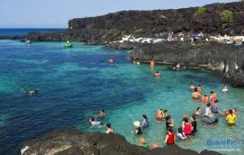 Thiên đường thơ mộng ở Đảo Bé Lý Sơn
