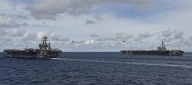 Mỹ cấp tập điều tàu sân bay hoạt động ở Biển Đông