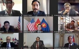 ASEAN cảm ơn Mỹ trong nỗ lực duy trì luật pháp quốc tế trên Biển Đông