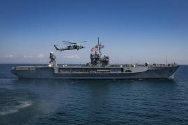 Tàu chiến Mỹ tiếp tục tiến vào Biển Đen diễn tập hải quân