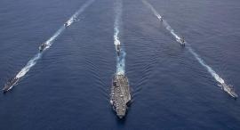 Tàu chiến Mỹ tập trận tại Ấn Độ Dương chống lại các mối đe dọa trên biển