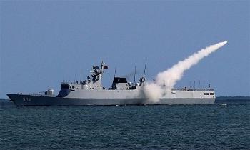 Trung Quốc diễn tập bắn đạn thật ở vùng biển đảo Lôi Châu