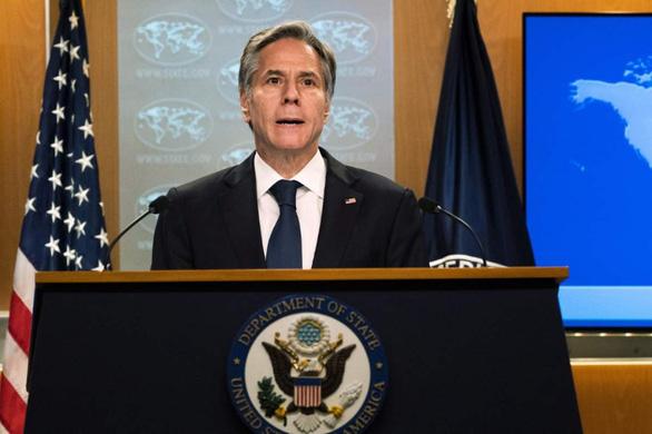 Mỹ bác yêu sách hàng hải phi pháp của Trung Quốc tại hội nghị với ASEAN - Ảnh 1.