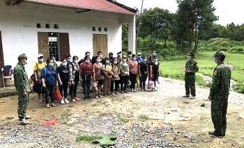 Cao Bằng: Biên phòng xử lý 26 công dân nhập cảnh trái phép vào Việt Nam