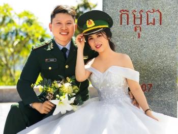 Lính biên phòng hai lần hoãn cưới để phòng chống dịch Covid-19