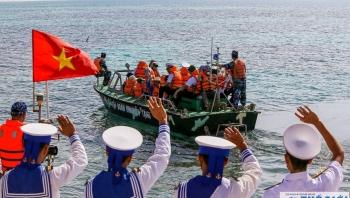 Tâm tình người lính biển giữa đảo Trường Sa