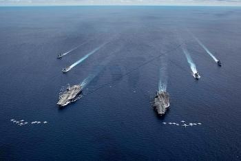 """Mỹ hội 4 quân chủng cho """"Sáng kiến Răn đe Ấn Độ - Thái Bình Dương"""""""