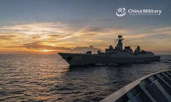 Trung Quốc tập trận bắn đạn thật quy mô lớn tại biển Hoàng Hải