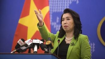 Yêu cầu Trung Quốc hủy bỏ tập trận trái phép ở đảo Hoàng Sa của Việt Nam