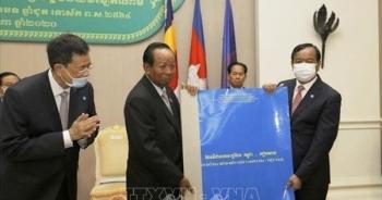 Bản đồ biên giới Campuchia - Việt Nam sẽ gửi Liên hợp quốc lưu giữ
