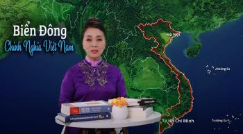 """NSND Bạch Tuyết bảo vệ chủ quyền biển đảo Việt Nam: """"Vì tôi yêu Tổ quốc tôi"""""""