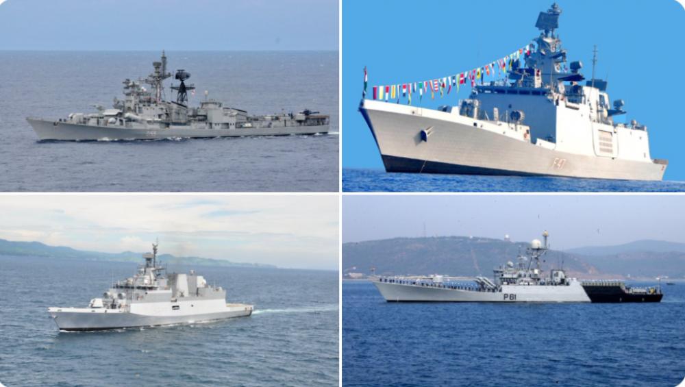 Ấn Độ cử nhóm tác chiến đến Biển Đông thực thi sứ mệnh quân sự