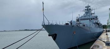 Tàu chiến Đức sẽ ghé thăm Việt Nam cuối năm nay khi tới Biển Đông