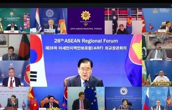Diễn đàn Khu vực ASEAN kêu gọi duy trì an ninh và tự do hàng hải tại Biển Đông