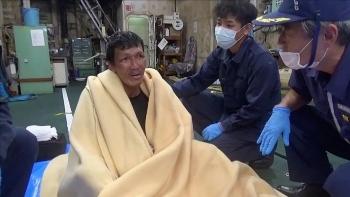 Tàu chìm ngoài khơi Nhật Bản: Tìm thấy người thứ hai sống sót