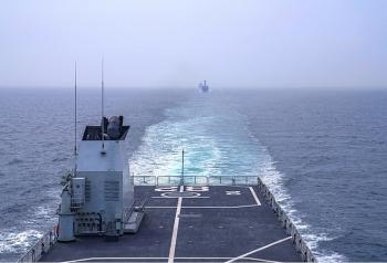 Trung Quốc tiếp tục tập trận bắn đạn thật trên biển