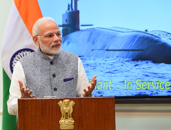 Ấn Độ sắp biên chế tàu ngầm hạt nhân thứ hai mang 8 tên lửa đạn đạo