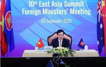 Ngoại trưởng các nước Đông Á kêu gọi không gây căng thẳng, phức tạp tình hình Biển Đông