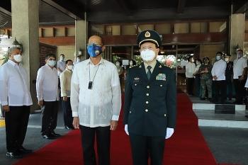 Philippines điều chỉnh tuyên bố về Biển Đông chỉ sau vài phút