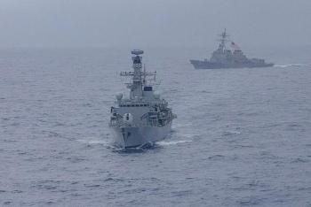Mỹ, Nhật, Hàn, Úc đang tập trận chung ở Thái Bình Dương