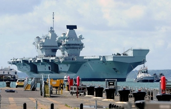 Bộ Quốc phòng Anh được yêu cầu cử tàu sân bay tới Biển Đông đối phó với Trung Quốc
