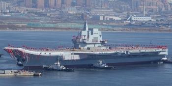 Trung Quốc sắp hạ thủy tàu sân bay thứ 3