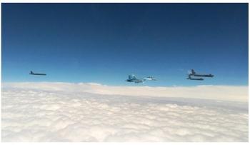 Nga xuất kích 4 chiến đấu cơ ngăn chặn máy bay Mỹ tại Biển Đen