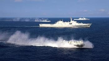 Chưa đầy 2 tháng, Trung Quốc tổ chức hơn 30 cuộc tập trận trên biển