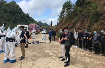 Hà Giang: Trao trả 17 công dân Trung Quốc nhập cảnh trái phép qua biên giới