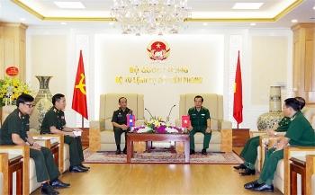 Tiếp tục thúc đẩy quan hệ hợp tác bảo vệ biên giới Việt – Lào