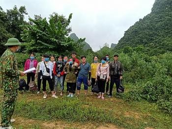 Phát hiện 13 công dân nhập cảnh trái phép từ Trung Quốc vào Việt Nam
