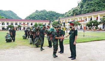 Tăng cường lực lượng phòng chống dịch Covid-19 trên tuyến biên giới Sơn La
