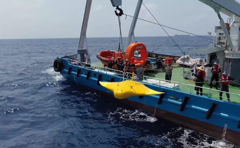 Trung Quốc thử nghiệm robot ở quần đảo Hoàng Sa của Việt Nam