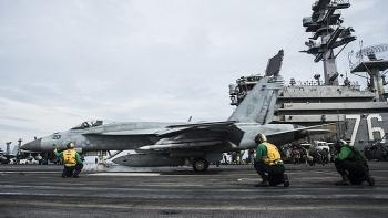 """""""Bộ tứ kim cương"""" sẵn sàng điều động tàu sân bay hoạt động ở Biển Đông"""
