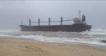 Quảng Bình: Lên phương án tiếp cận tàu gặp nạn trên biển