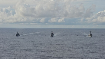 Mỹ, Nhật, Úc tập trận chung tại Biển Đông