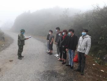 Hà Giang: Phát hiện 12 công nhân nhập cảnh trái phép qua biên giới