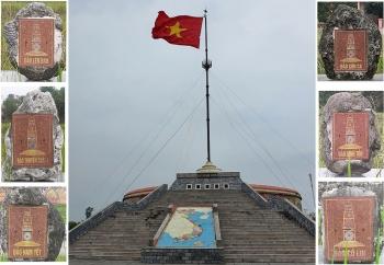 Thiêng liêng cột cờ giới tuyến trên đảo tiền tiêu