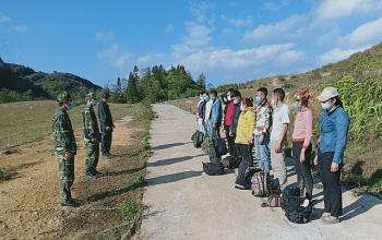 Phát hiện, cách ly 37 người nhập cảnh trái phép từ Trung Quốc