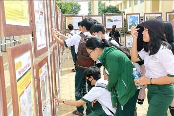 Bình Thuận: Triển lãm về Hoàng Sa, Trường Sa được tổ chức ở nhiều trường học