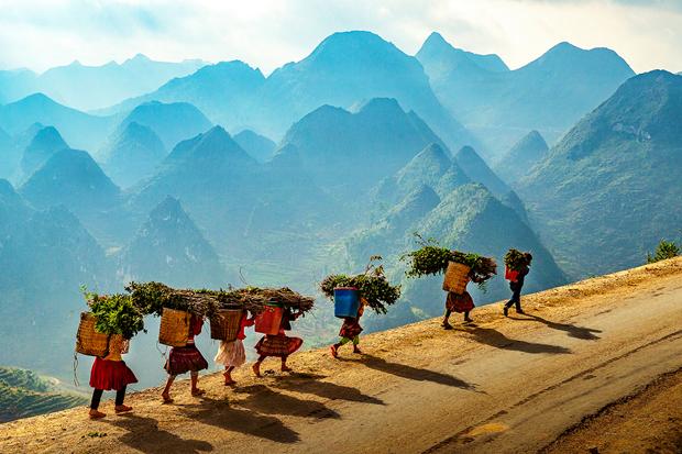 Tác phẩm 'Vẻ đẹp viễn biên' của Phạm Hoài Nam (Hà Nội) đạt giải Nhất