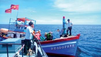 Bình Định: Tăng cường kiểm soát tàu giã cào trong nỗ lực khắc phục thẻ vàng IUU